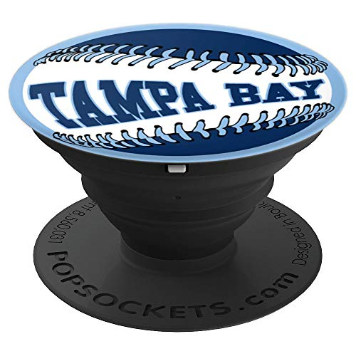 (Brave New Look Tampa Bay Baseball PopSockets Stand for Smartphones and Tablets - PopSockets Grip and Stand for Phones and Tablets)