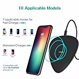 US Stock Cell Phone Wireless Charger Note 5 Android Fast & Quick Charge 3.0 for Samsung Galaxy S7 S8 Plus iPhone X 10 8 Plus
