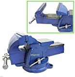 NEW HD 6'' HEAVY DUTY BENCH VISE CLAMP TABLETOP SWIVEL LOCKING STEEL BASE