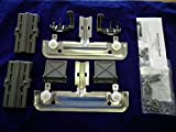 Appliances Dishwashers Best Deals - W10712395 RACK ADJUSTER KIT FOR KITCHENAID WHIRLPOOL AND JENN-AIR DISHWASHERS REPLACES PART NUMBER W10350375 COMPLETE KIT REPLACES BOTH SIDES, Model: W10712395, Tools & Outdoor Store by Go Outdoor