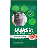 IAMS 10177703 Proactive Health Adult Senior Plus Premium Dry Cat Food 3.18Kg, 1 Pack