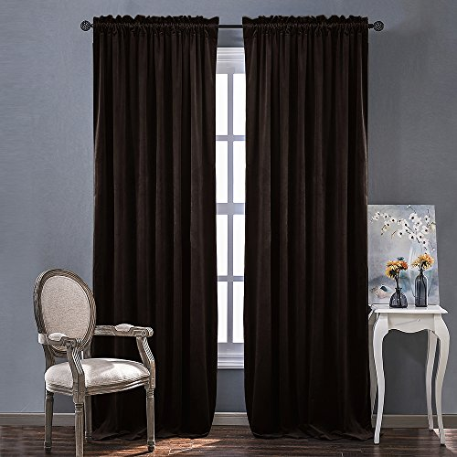 velvet thermal curtains - 2