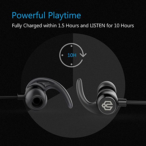 iClever Bluetooth Headphones, Wireless Earbuds with Stereo Music