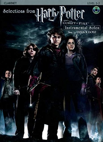 Selections from Harry Potter and the Goblet of Fire: Clarinet, Book & CD