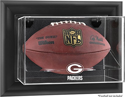 Mounted Memories Green Bay Packers Football Logo Display (Mounted Memories Green)