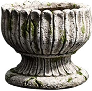 NuAnYI Classic Greek Roman Column Planter Angel Flower Pot Garden Decoration,RomanPot