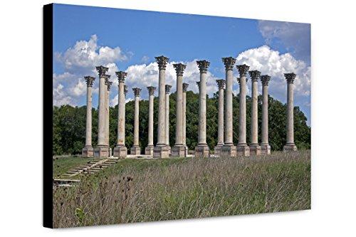 ClassicPix Canvas Print 12x18: National Capitol Columns, View 2, United States National (National Capitol Columns)