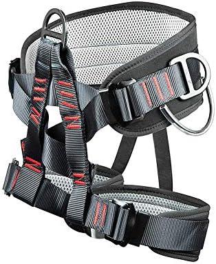 Arnés de Escalada, la Cintura más Amplia Protect Medio Cuerpo ...