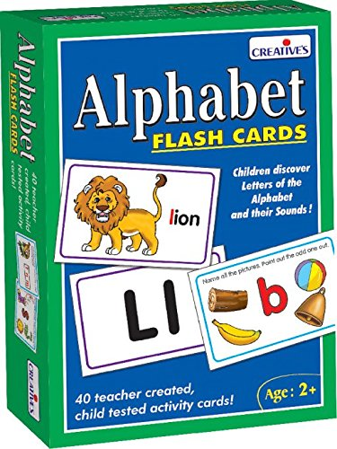 Creative Educational Aids 0519 Alphabet - Flash Cards product image