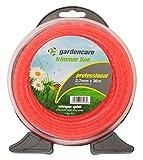 Gardencare GCT270-D 2.4 mm x 15 m Quiet Whisper Range Drum, Orange
