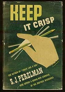 Hardcover Keep it crisp Book