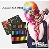 Bulges DIY Styling Temporary Hair Color Kit Non-toxic Soft Pastel Hair Color Chalk Hair Color