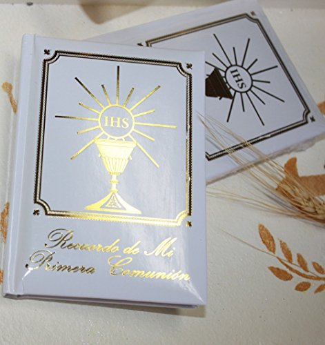 - FavorOnline Spanish First Holy Communion Missal/Catholic Prayer Book Gold with Imitation Mother of Pearl Cover