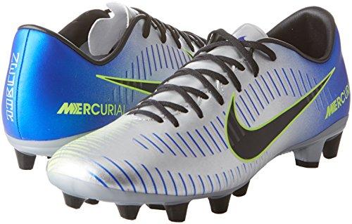 Footbal Chaussures Neymar Multicolore Racer chrome ag Noir Homme volt bleu Victory volt Mercurial 407 Nike Vi xBUnYRw0qx