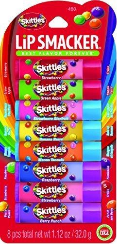 (Lip Smacker Party Pack Lip Balm 480 Skittles by Bonne Bell )