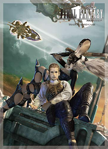 Square Enix Square-EnixACCSQX011 Abysse PC Final Fantasy 12 Fran and Balthier Sleeves (Best Trading Card Games Pc)