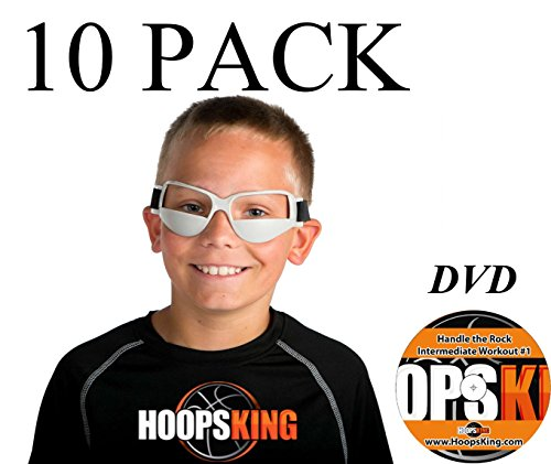 Basketball Dribble Goggles 10 Pack Plus Workout - Goggles Basketball With Player
