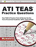 img - for ATI TEAS Practice Questions: Two TEAS 6 Practice Tests & Review for the Test of Essential Academic Skills, Sixth Edition book / textbook / text book