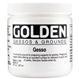 Golden Acrylic Gesso - 8 oz Jar