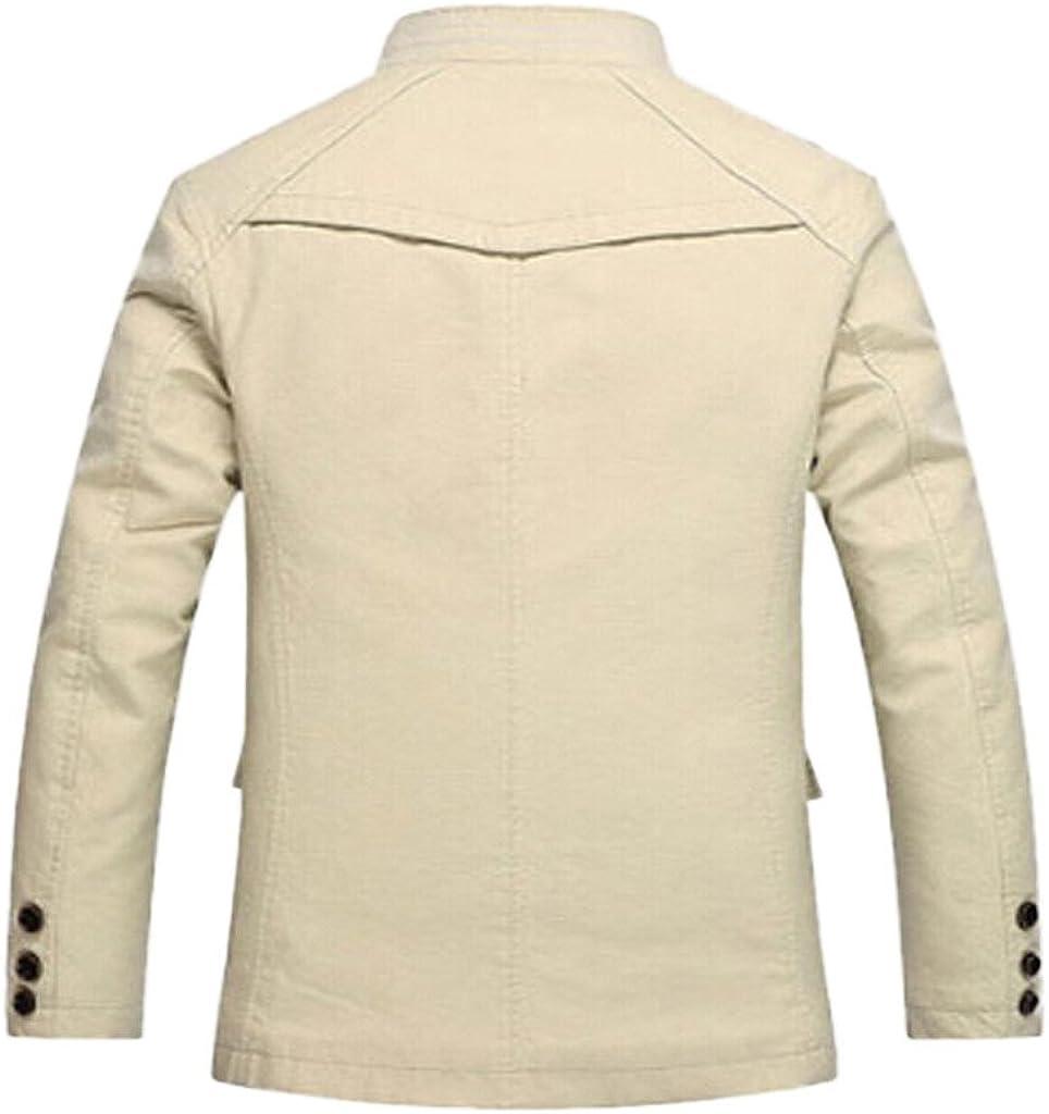 Northar Mens Cotton Silm Fit Zip Jacket Winter Coat