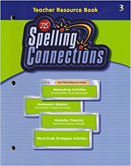 Spelling Connections Teacher Resource Book