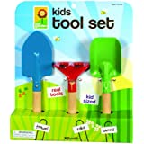 Toysmith Kid's 3-Piece Garden Tool Set