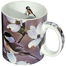 Reflective Art Spring Time Chickadees Boxed Coffee Mug, 16-Ounce