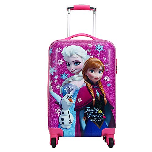 D'S Paradise Polycarbonate 20 Inches Hard Trolley Bag  DPBWD20_Pink