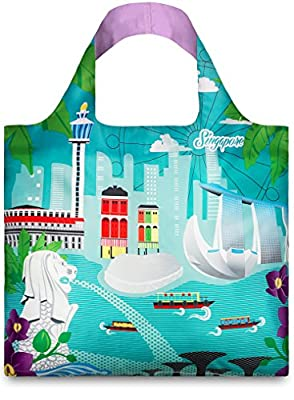 LOQI Urban Singapore Reusable Shopping Bag