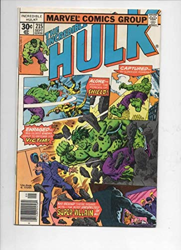 HULK #215, FN, Incredible, Bruce Banner, Bi Beast, 1968 1977, Marvel