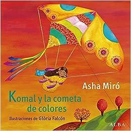 Komal y la cometa de colores, book cover