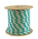 Rope King SBP-58140GW Solid Braided Poly Rope