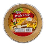 Keebler 9 oz. Ready Crust Graham Pie Crust - 2 Extra Servings (Pack of 2)