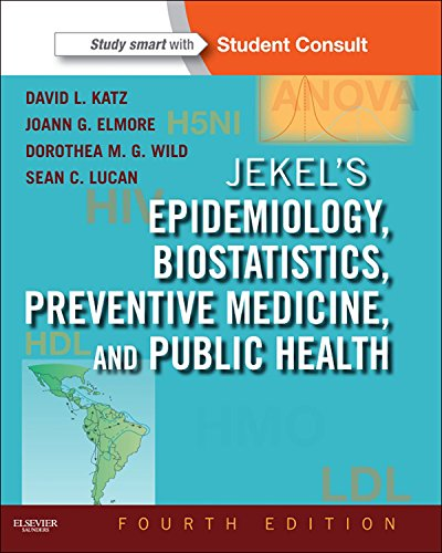 Jekel's Epidemiology, Biostatistics and Preventive Medicine (Jekel's Epidemiology, Biostatistics, Preventive Medicine, Public Health) Pdf