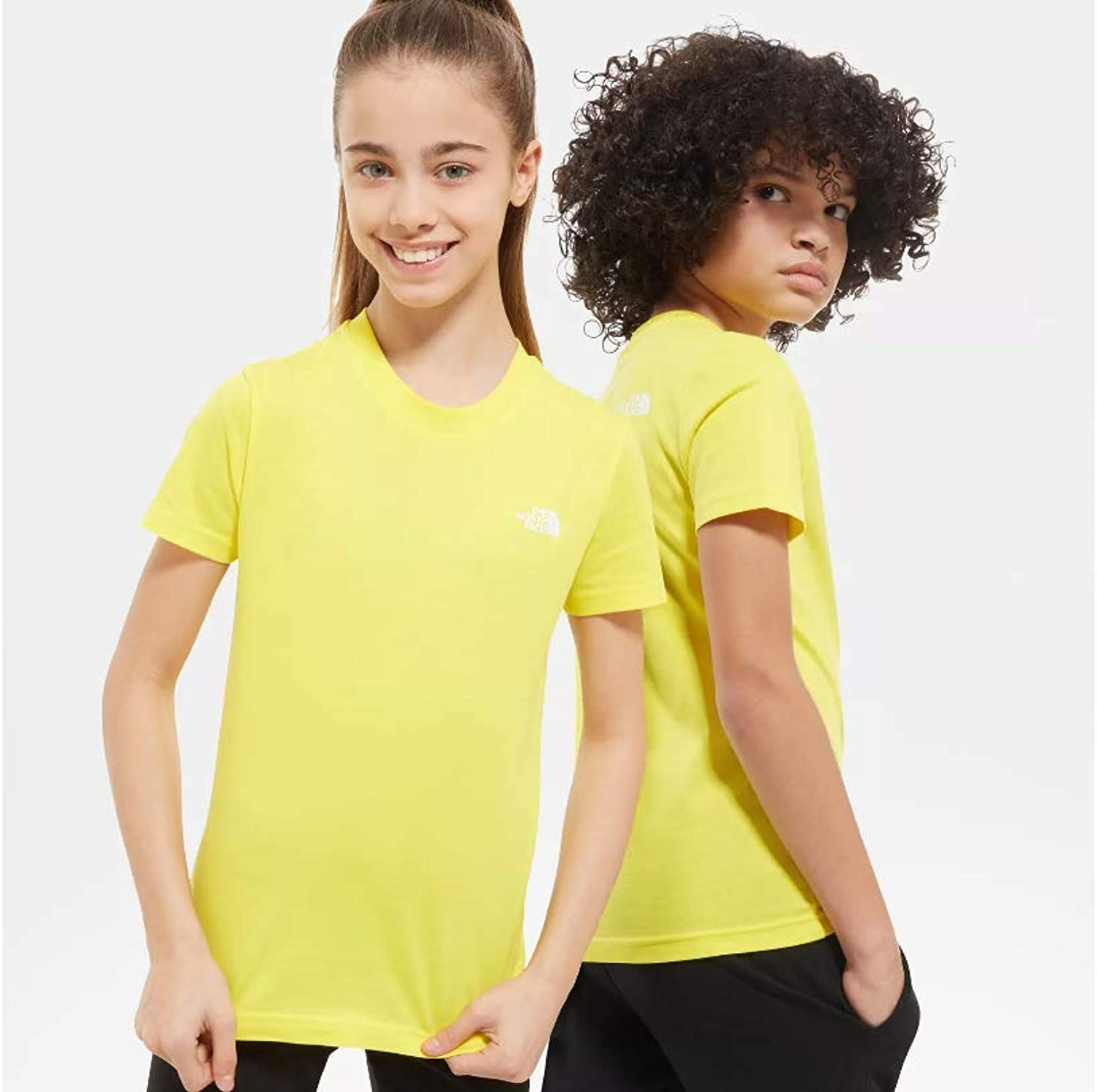 The North Face LA Camiseta Amarilla del Chico NF0A2WAN: Amazon.es: Deportes y aire libre