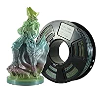 Stronghero3D 3D Printing PLA Filament 1.75mm Epic Rainbow Multicolors Net Weight 1KG Accuracy +/-0.05mm from Stronghero3D