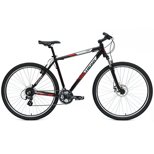 Head Rise XT Mountain Bike, 29 inch Wheels, 17.5 inch Frame, Black/Red
