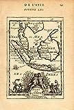 EAST INDIES. Sunda Sumatra Java Borneo Malaya. Indonesia. MALLET - 1683 - old map - antique map - vintage map - printed maps of Indonesia
