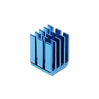40 unidades negro o azul TMC2100 Stepper Motor Driver Disipador de ...