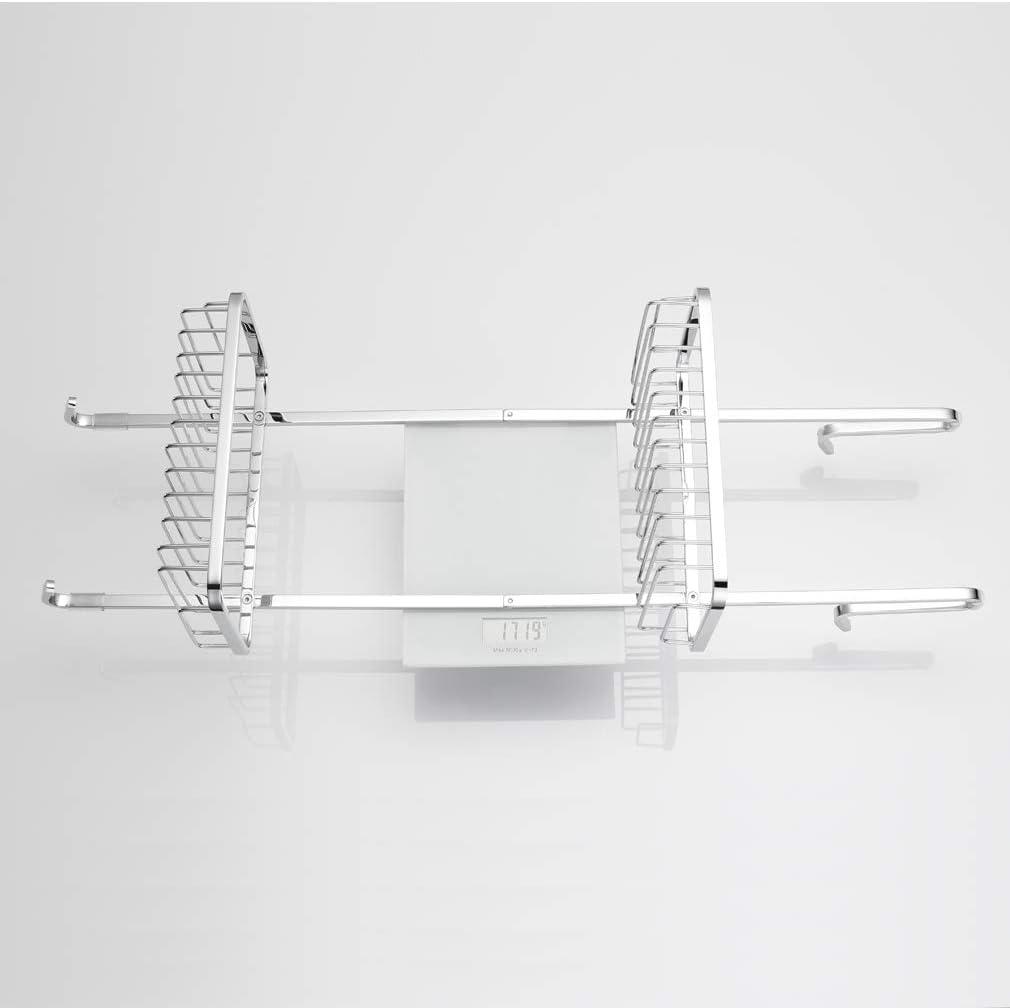 Ubeegol /Étag/ère de douche /à suspendre en acier inoxydable pour mur de douche sans per/çage pour rangement pratique du shampooing ou du savon 70 cm