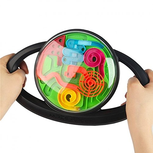SainSmart Jr. 3D Maze Racer Handheld Game (Black)