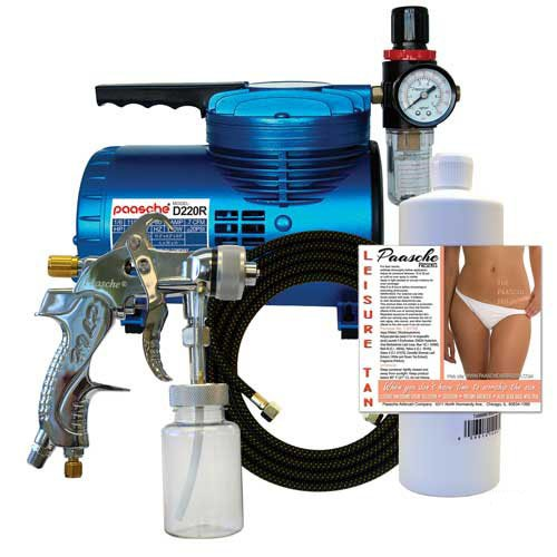Paasche Quick Application Airbrush Tanning Kit by Paasche Airbrush