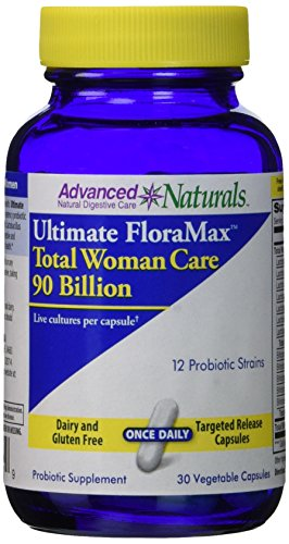Advanced Naturals Ultimate Floramax Total Woman Care 90 Billion Caps, 30 Count