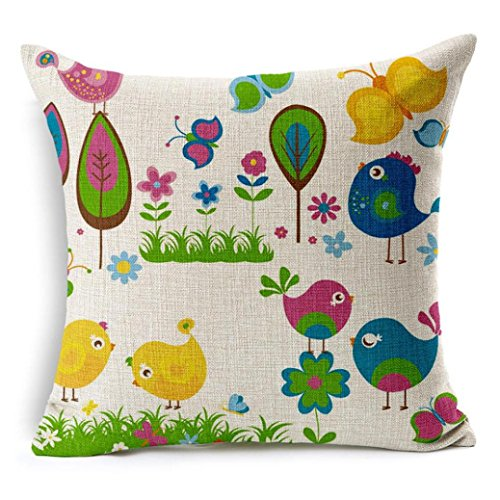 GOTD Throw Pillows Covers for Living Room Decorating 18x18 (#5)