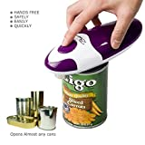 BangRui Smooth Soft Edge Electric Can Opener with