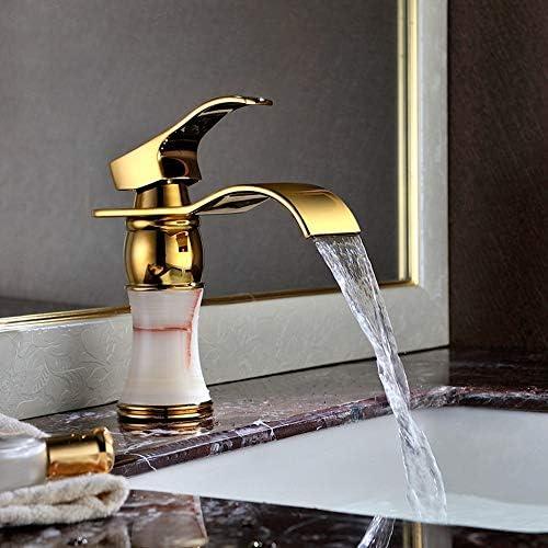 現代の豪華なバスルームのシンクの蛇口、洗面蛇口洗面化粧台のシンクの蛇口現代ワンホールデッキマウント、バスルームのベストジュエリーの一つ
