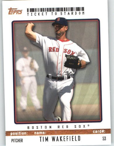 Tim Wakefield Boston Red Sox Topps Ticket To Stardom