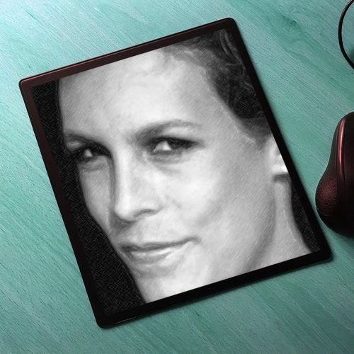 Seasons Jamie LEE Curtis - Original Art Mouse Mat #js004]()
