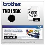 Brother TN315BK Toner Cartridge for Brother Laser Printer Toner – Retail Packaging – Black
