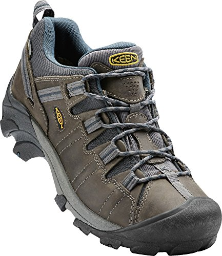 KEEN Men's Targhee II Hiking Shoe,  Gargoyle/Midnight Navy - 10.5 D(M) US from KEEN